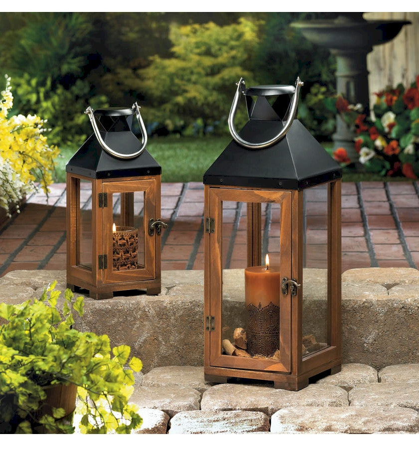 Hartford Lanterns | Wood and Metal Candle Lantern