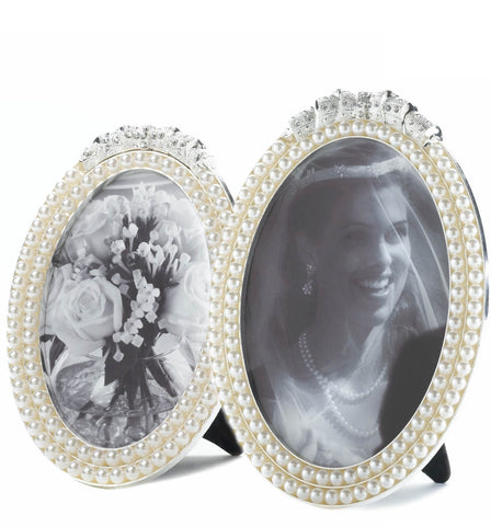 Strands of Pearls Photo Frames