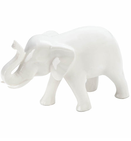 Ceramic White Elephant
