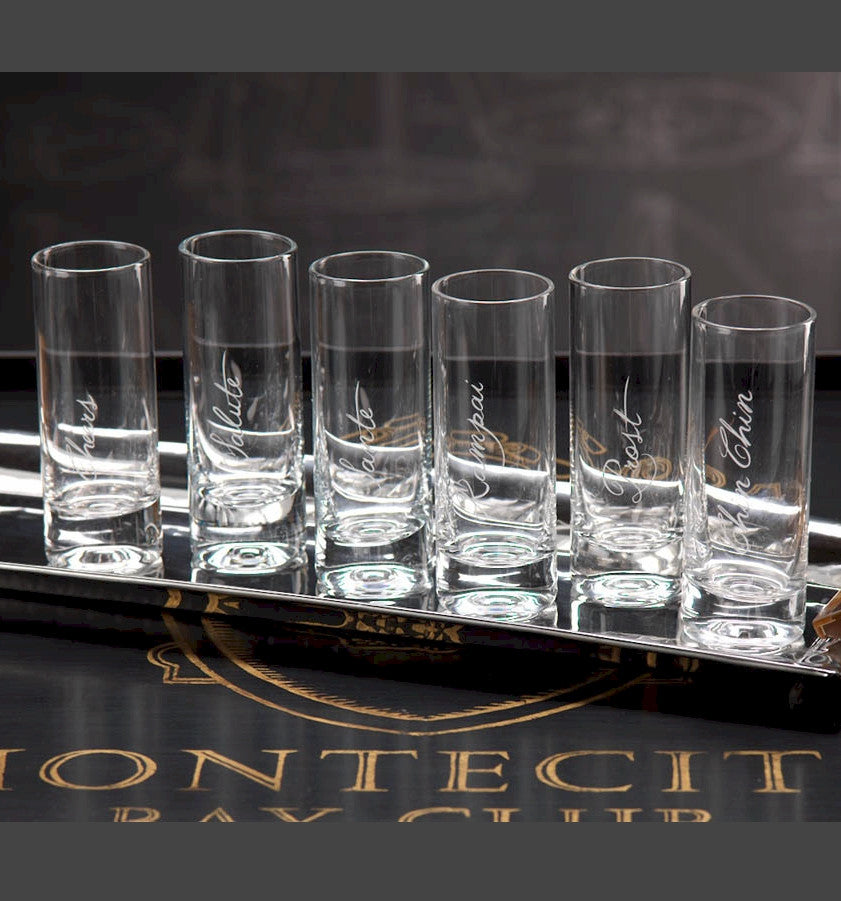 Cheers Shot Glass Set