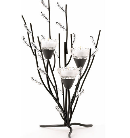 Crystal Tree Candleholder