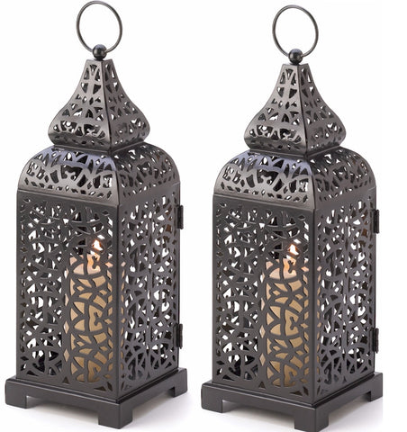 Moroccan Tower Lanterns