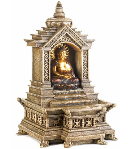 Golden Temple Buddha Fountain