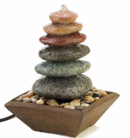 Zen Stone Fountain