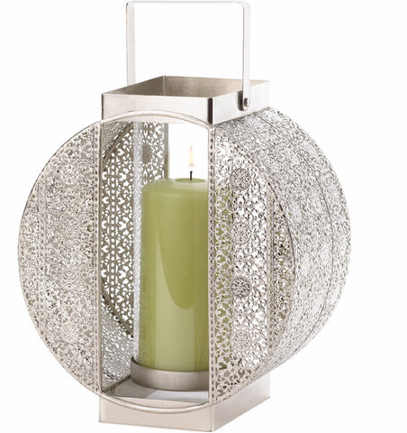 Metal Lace Candleholder