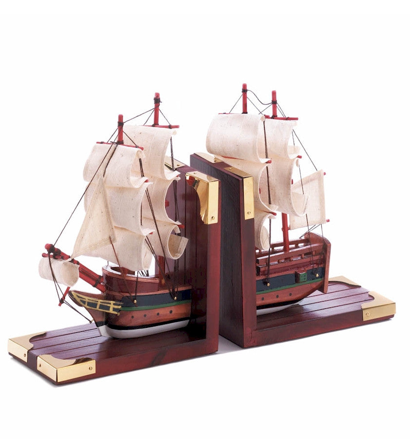 Schooner Ship Bookends