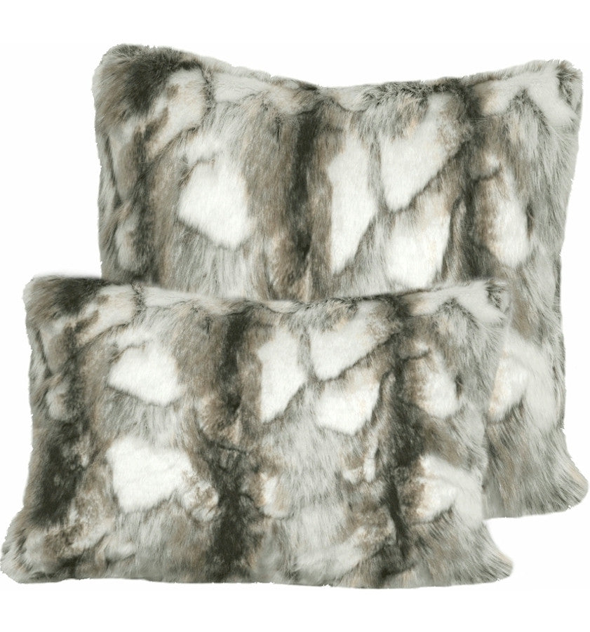 Grey Brandy Fox Pillow