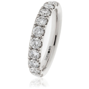 18ct White Diamond 1.00ct Eternity Ring