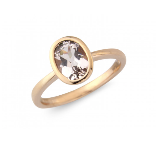 9ct Rose Morganite Ring
