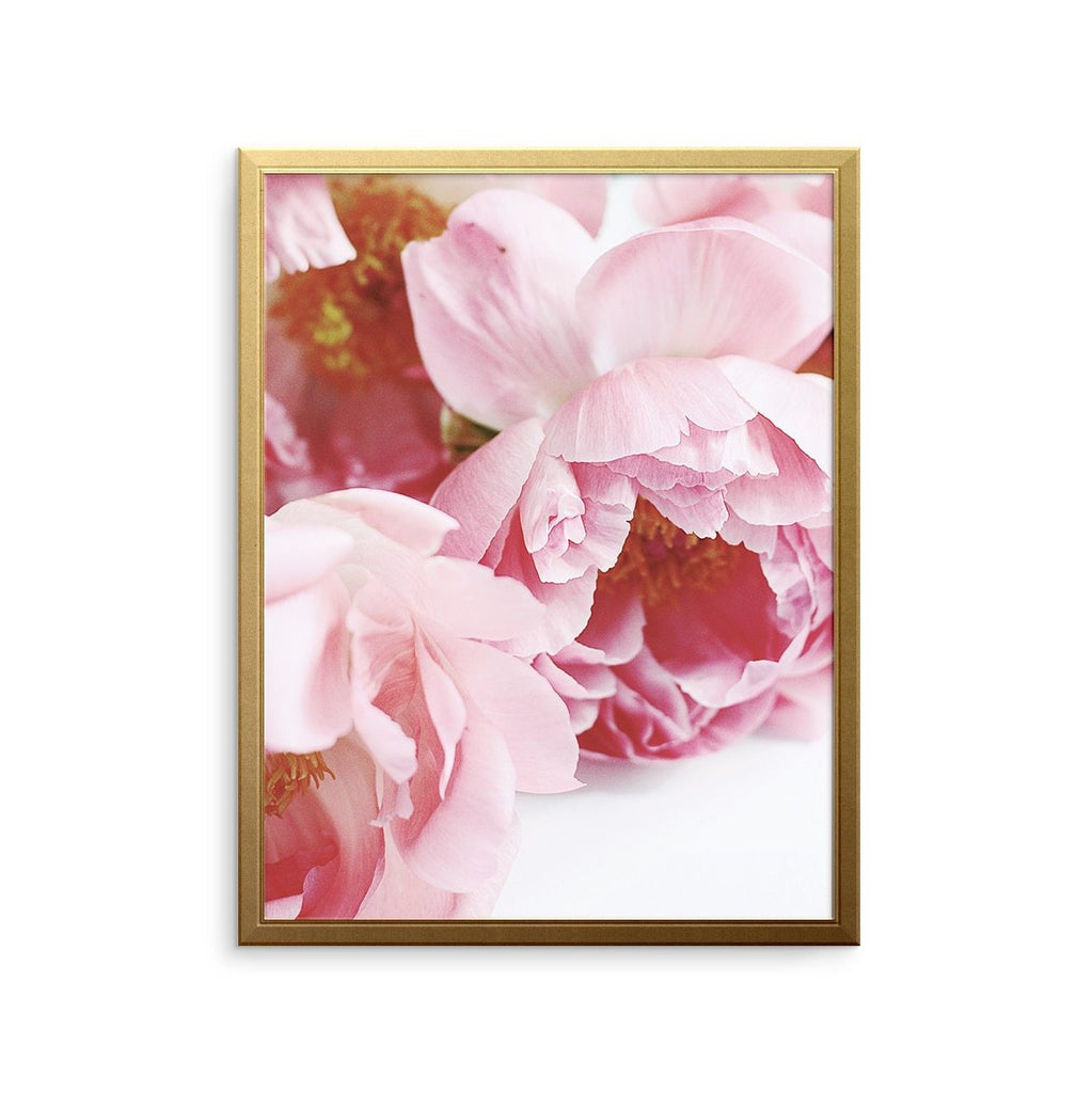 PEONIES BUNCH Art Print