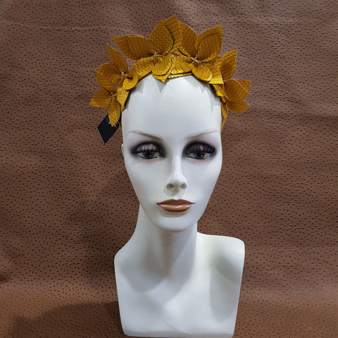 Yellow Joanne Fascinator