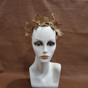 Yellow Gold Jeanette Fascinator