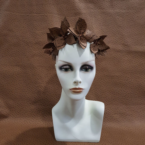 Tan Joanne Fascinator