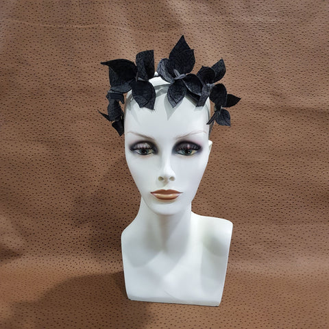 Black/Grey Joanne Fascinator