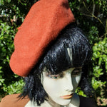 LM47- Rust Coloured Beret