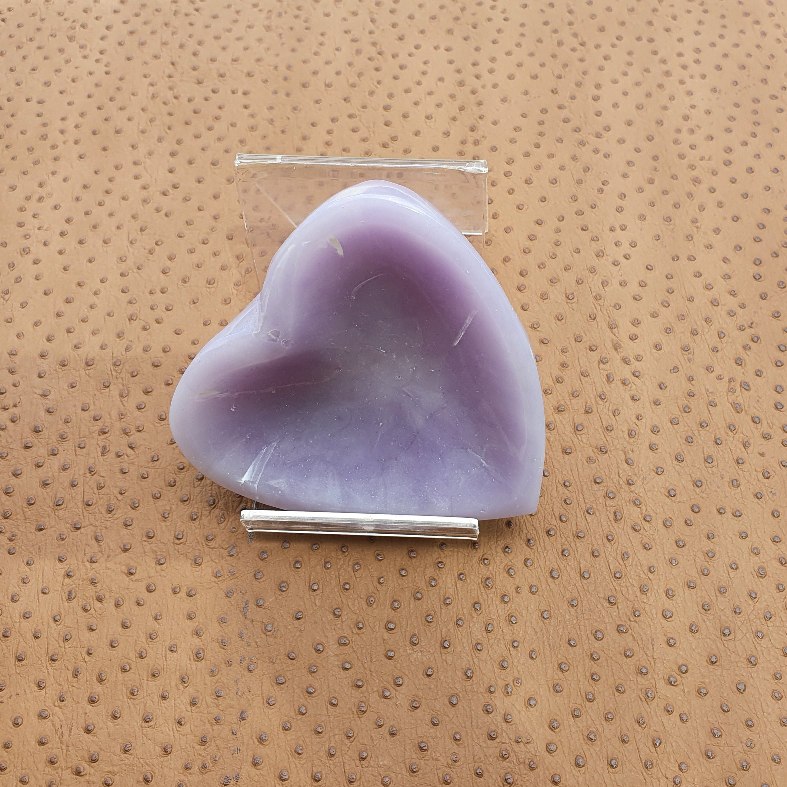 RB127 - Lilac moulded resin trinket dish