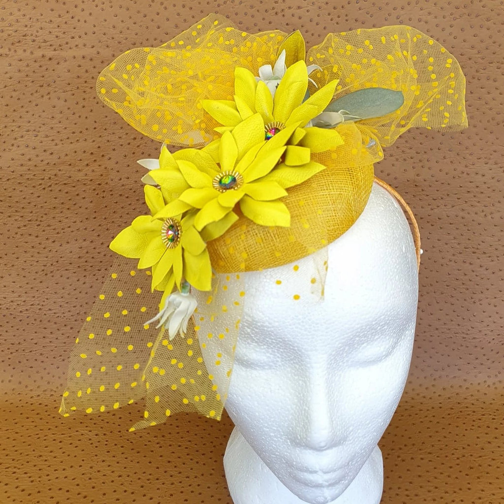 Sunshine Fascinator