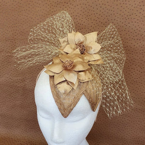 Goldie Fascinator