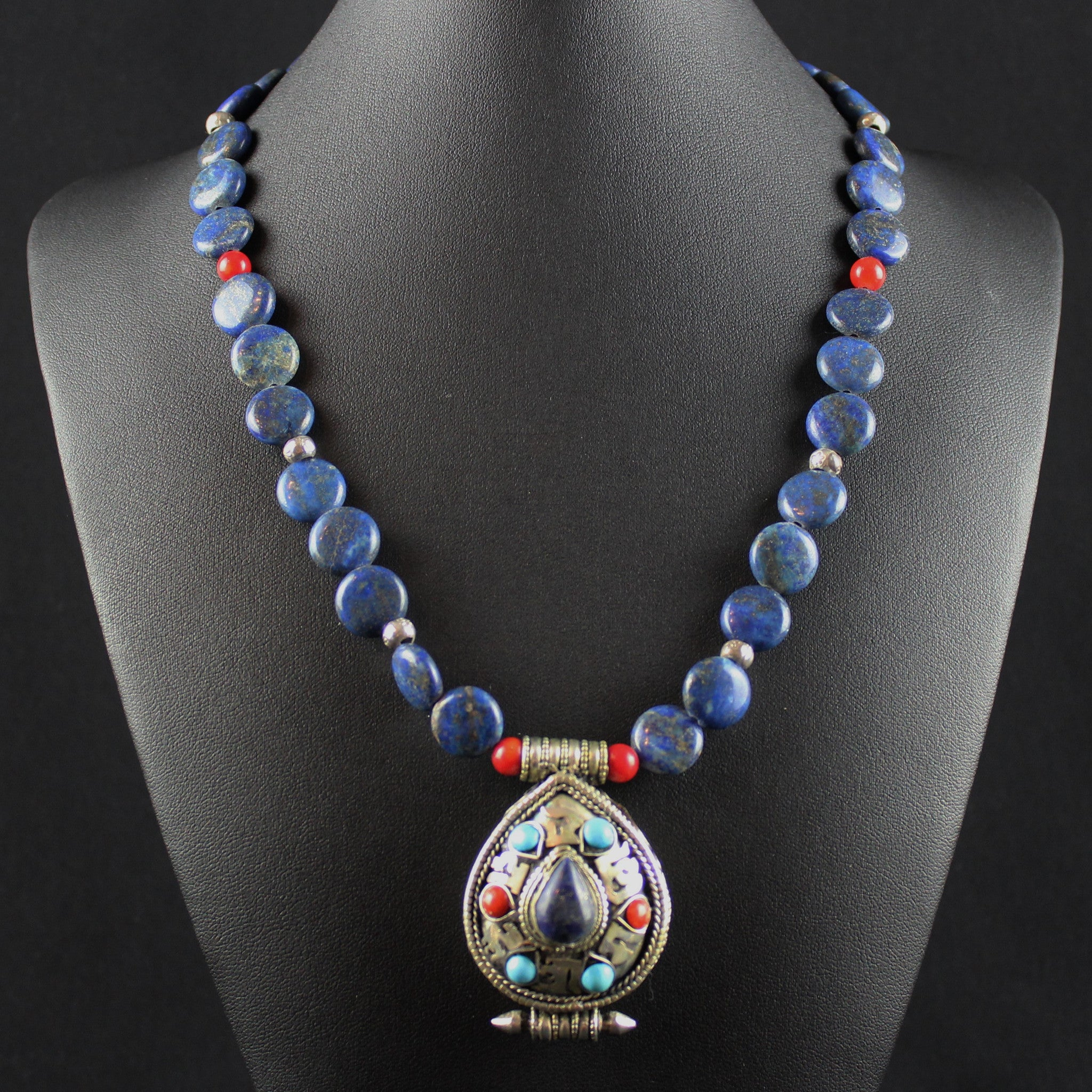 Susan M - Tibetan Prayer Box Necklace
