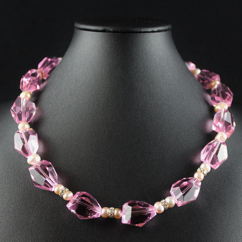 Susan M - Pink Necklace