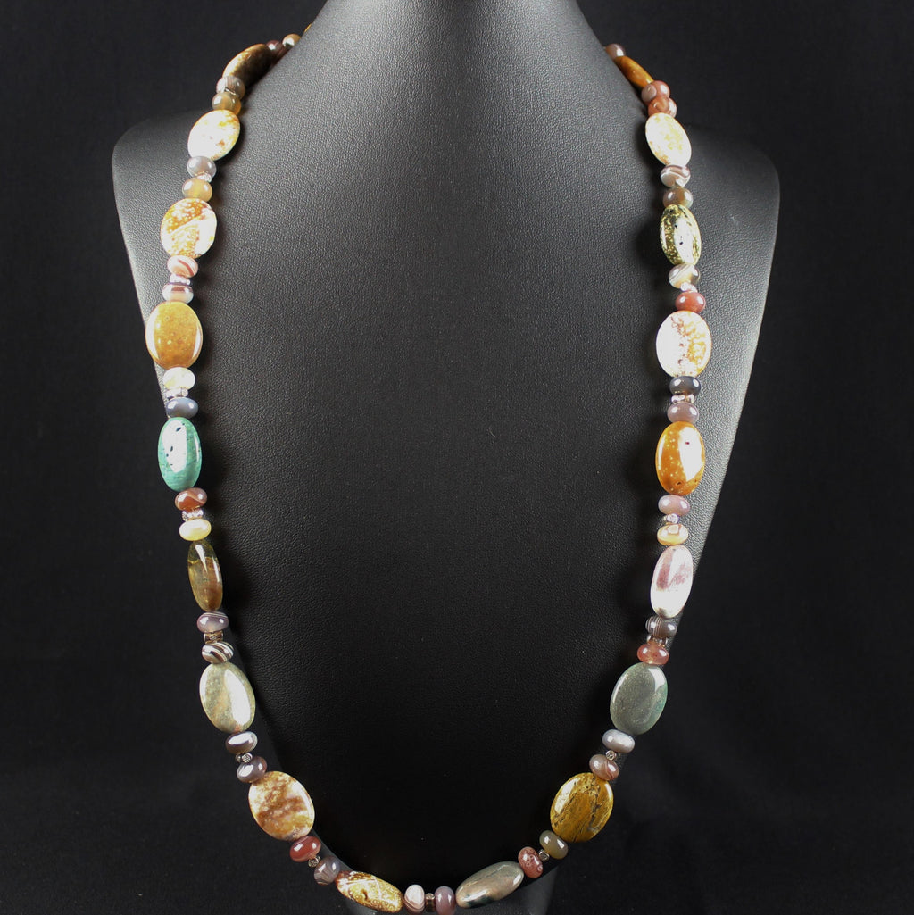 Susan M - Ocean Jasper Necklace