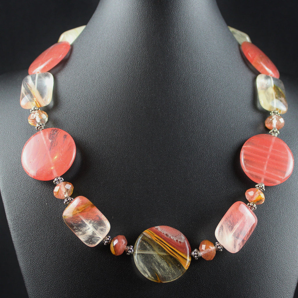 Susan M - Cherry Quartz Necklace