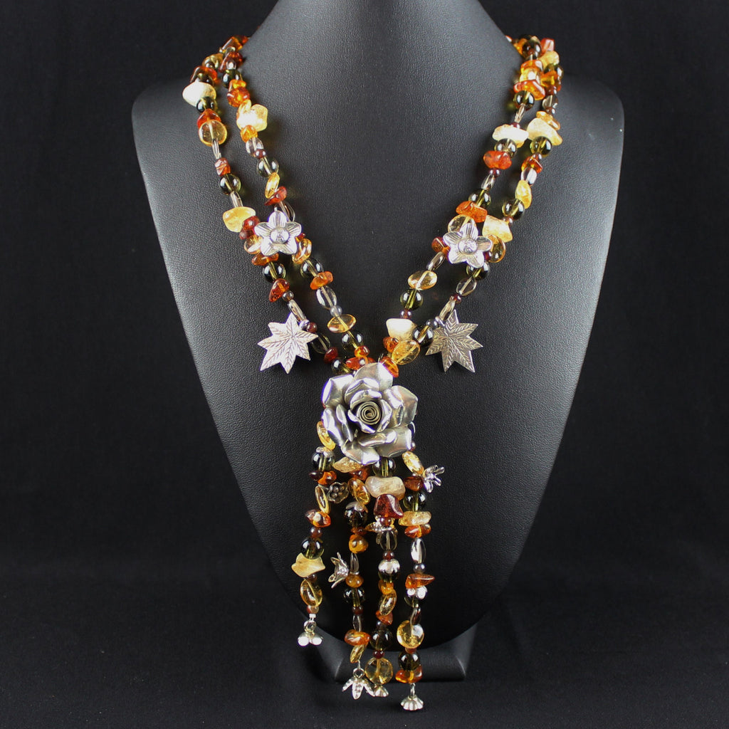 Susan M - Multi Stone Necklace