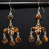 Susan M - Tiger Eye Earrings