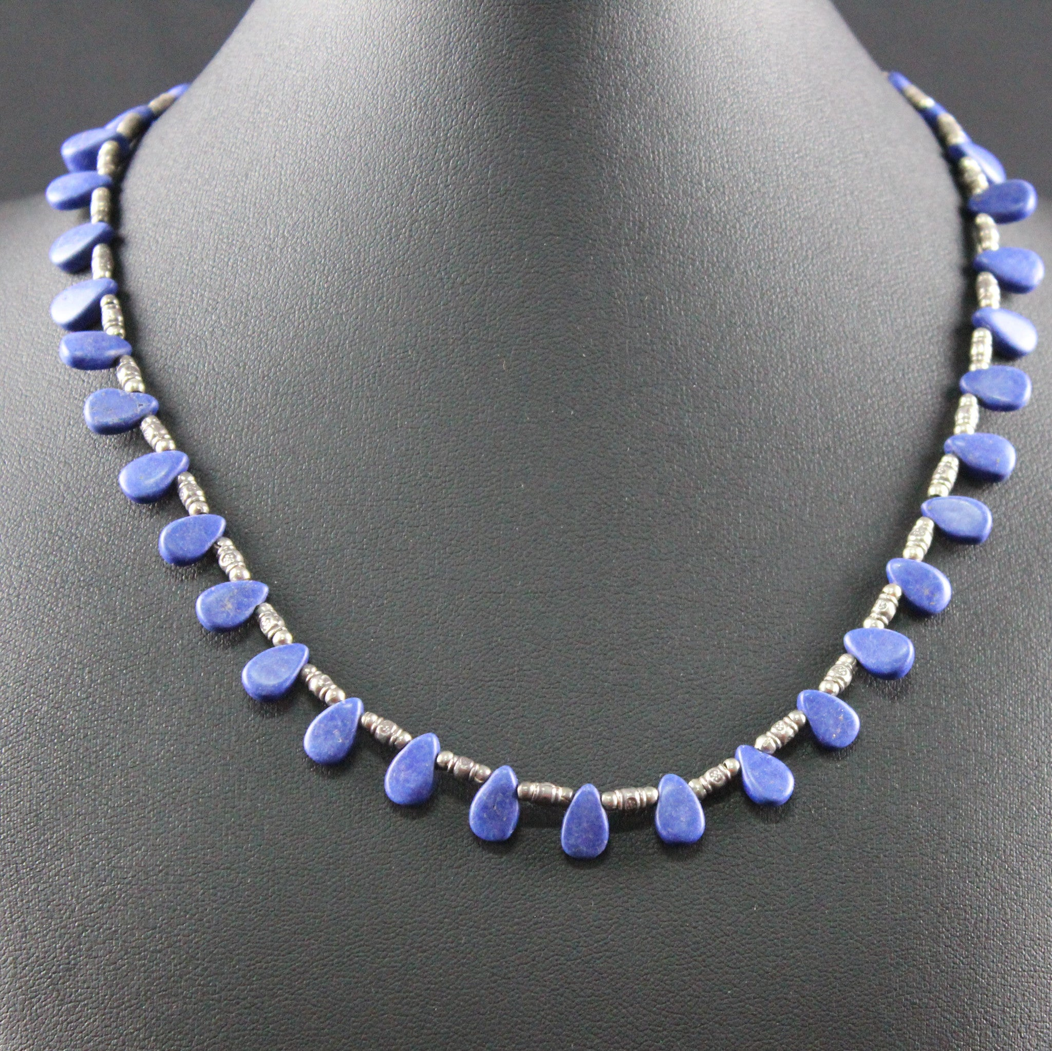 Susan M - Lapis Lazuli and silver Necklace