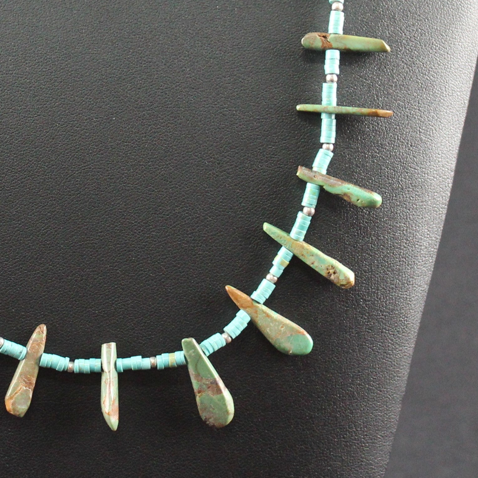 Susan M - Turquoise and silver Necklace