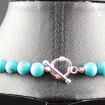 Susan M - Turquoise and Sterling Silver Necklace