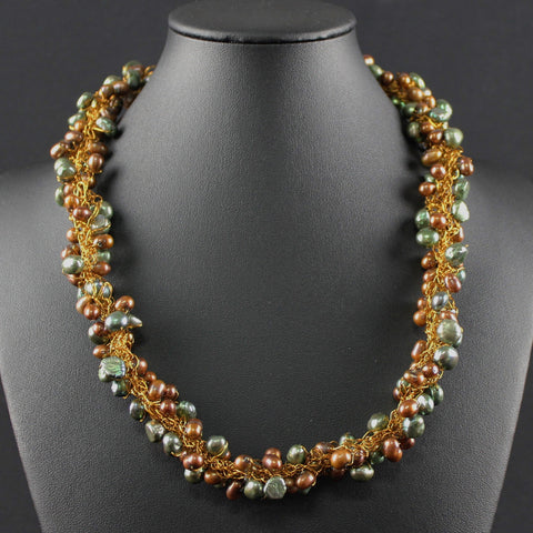 Susan M - Crochet Pearl Necklace