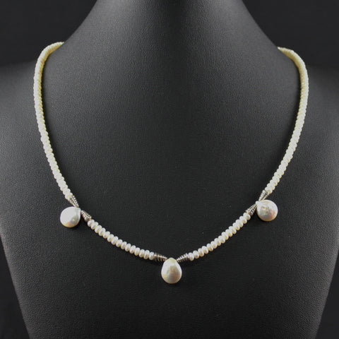Susan M - Pearl Necklace