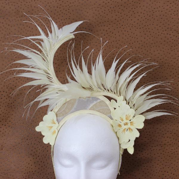 Swansey Crown Fascinator