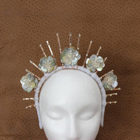 Amie Crown Fascinator