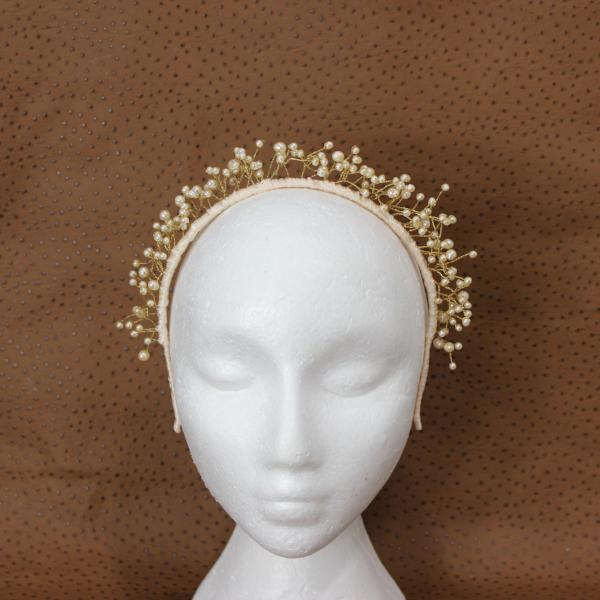 Angela Crown Fascinator