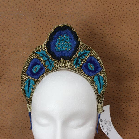 Rita Crown Fascinator