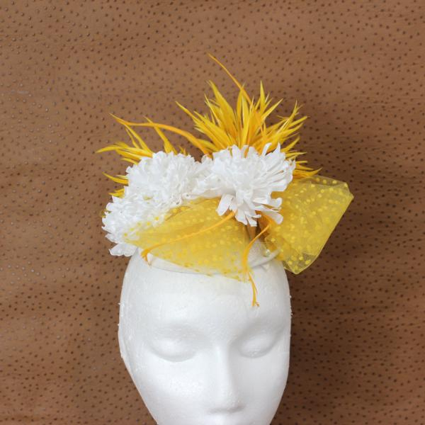 Marigold Fascinator