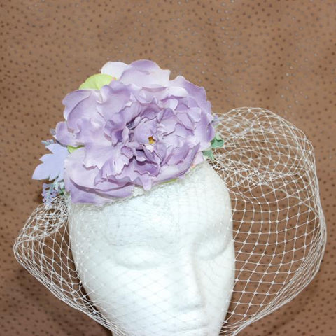 Blue Moon Fascinator