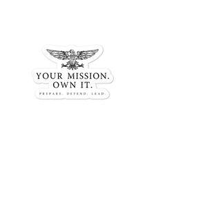 Open image in slideshow, Your Mission Eagle sticker