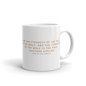 Open image in slideshow, STRENGTH OF THE PACK MUG