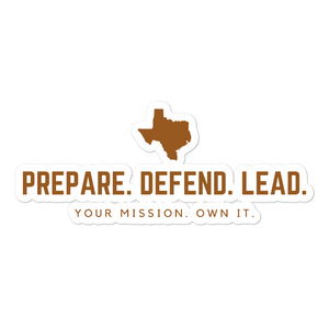 PDL Texas sticker