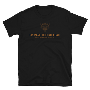 Open image in slideshow, Prepare. Defend. Lead. Wolf T-Shirt