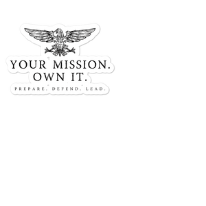 Your Mission Eagle sticker