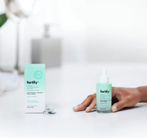 Fortify+ Facial serum for skincare moisturizing and protection