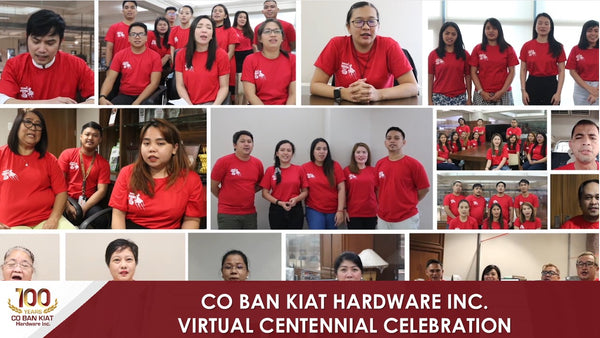 Rooted from its humble beginning that started in 1920, Co Ban Kiat Hardware Inc., the giant hardware today is now celebrating 100 years of its founding anniversary.
