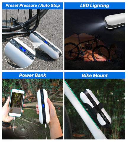 wireless bicycle tire inflator