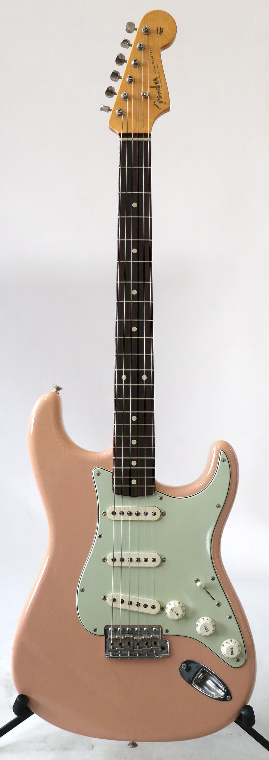 Fender Stratocaster 1961 Custom Shop Relic Shell Pink