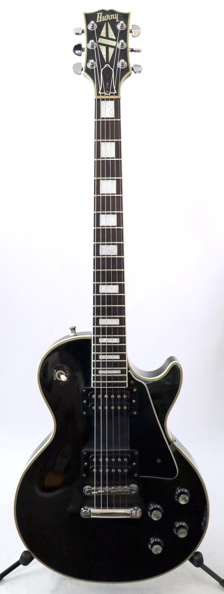 Burny John Sykes Les Paul Custom LC-75JS Japan
