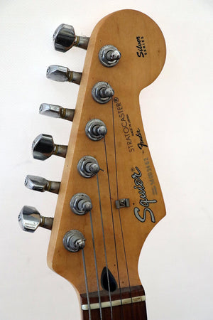 Fender Squier Stratocaster Silver Series Japan 1992